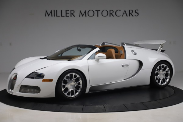 Used 2011 Bugatti Veyron 16.4 Grand Sport for sale Call for price at McLaren Greenwich in Greenwich CT 06830 2