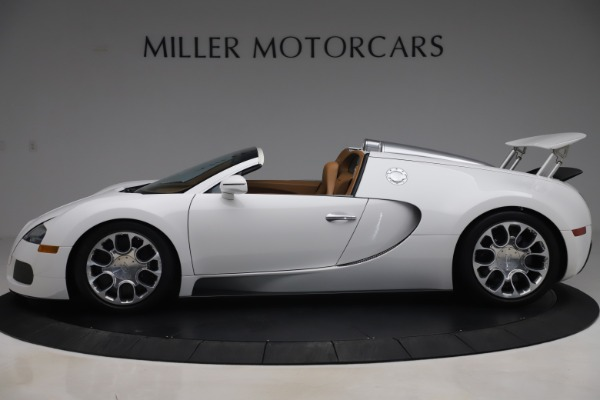 Used 2011 Bugatti Veyron 16.4 Grand Sport for sale Call for price at McLaren Greenwich in Greenwich CT 06830 3