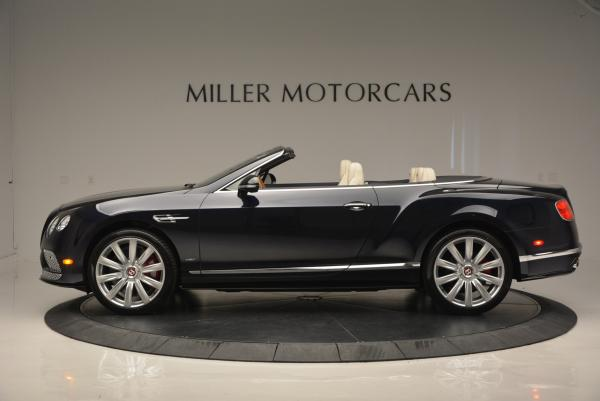 Used 2016 Bentley Continental GT V8 S Convertible for sale Sold at McLaren Greenwich in Greenwich CT 06830 3