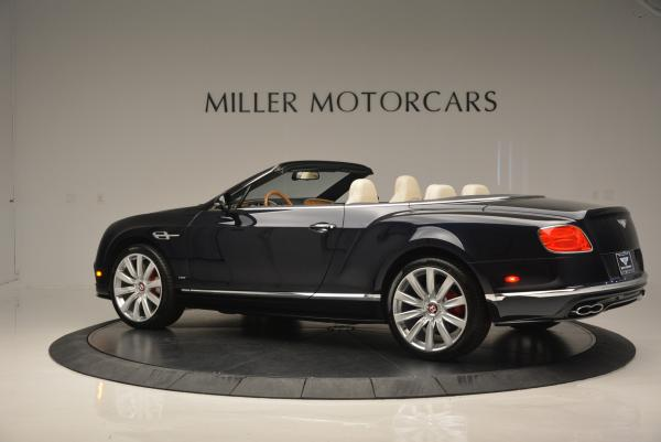 Used 2016 Bentley Continental GT V8 S Convertible for sale Sold at McLaren Greenwich in Greenwich CT 06830 4
