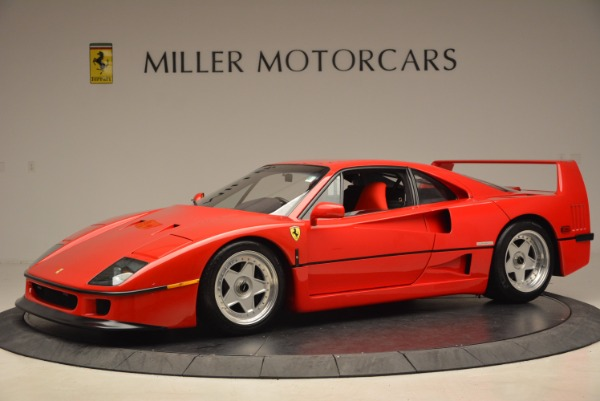 Used 1992 Ferrari F40 for sale Sold at McLaren Greenwich in Greenwich CT 06830 2