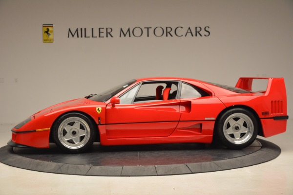 Used 1992 Ferrari F40 for sale Sold at McLaren Greenwich in Greenwich CT 06830 3