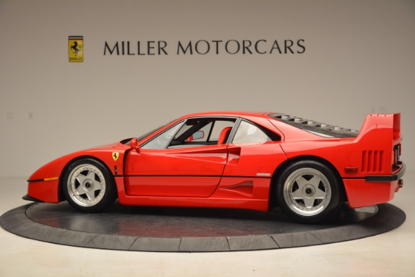Used 1992 Ferrari F40 for sale Sold at McLaren Greenwich in Greenwich CT 06830 4