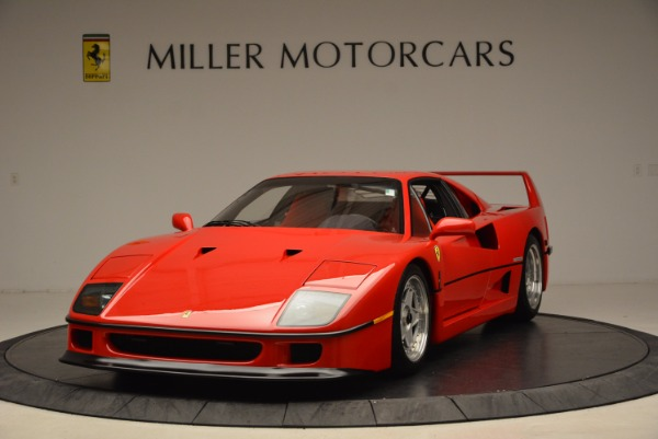 Used 1992 Ferrari F40 for sale Sold at McLaren Greenwich in Greenwich CT 06830 1