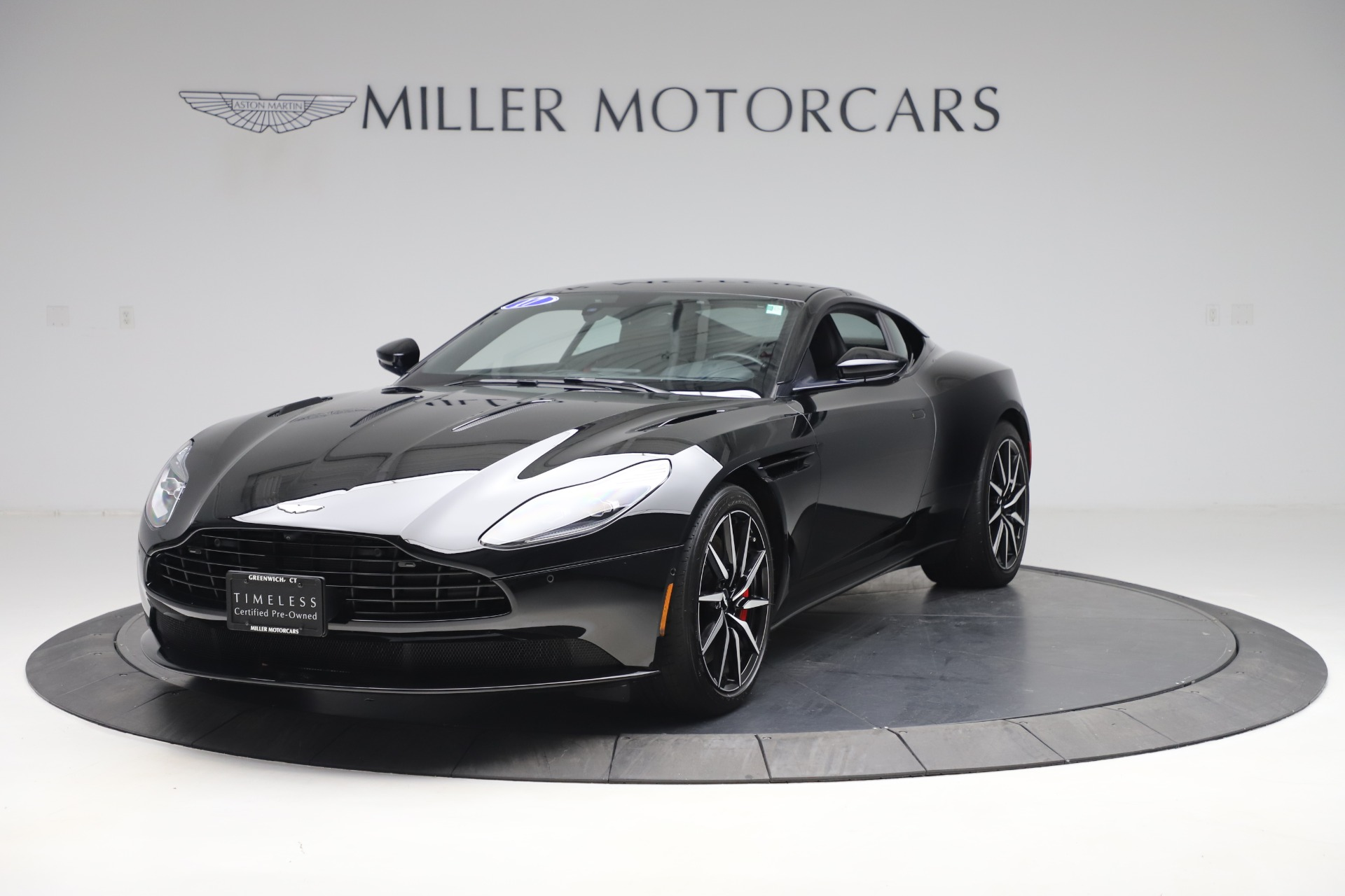 Used 2017 Aston Martin DB11 V12 Coupe for sale $135,900 at McLaren Greenwich in Greenwich CT 06830 1