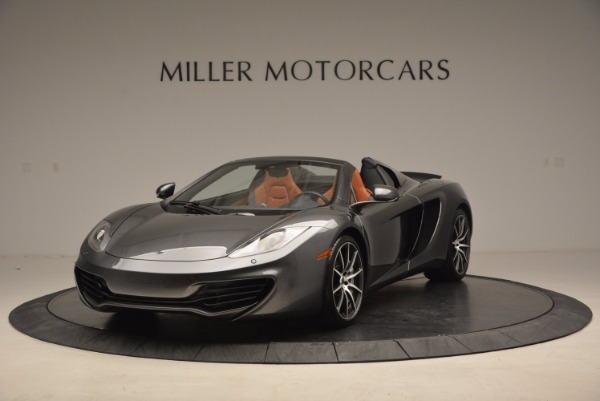 Used 2014 McLaren MP4-12C SPIDER Convertible for sale Sold at McLaren Greenwich in Greenwich CT 06830 2