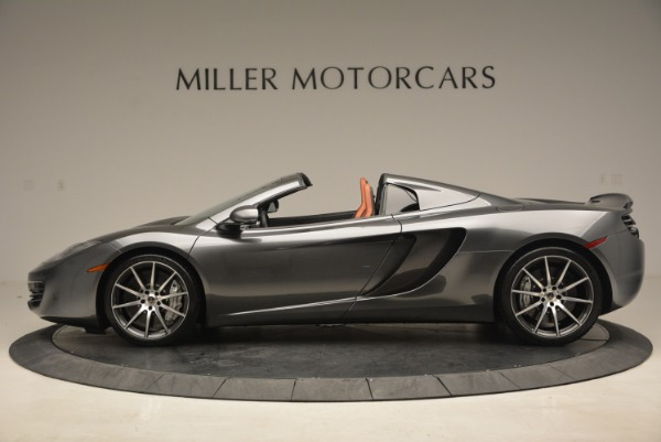 Used 2014 McLaren MP4-12C SPIDER Convertible for sale Sold at McLaren Greenwich in Greenwich CT 06830 3