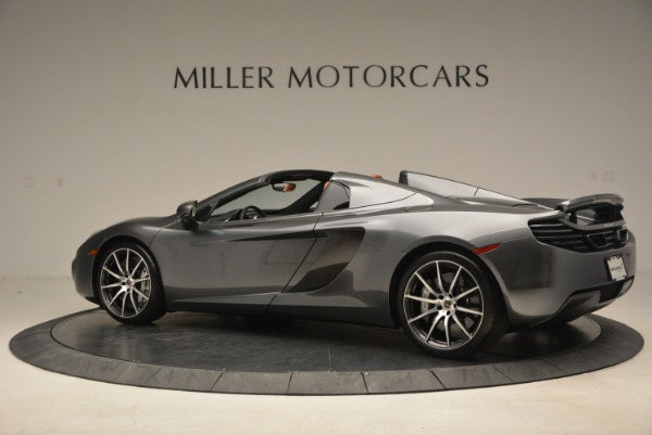 Used 2014 McLaren MP4-12C SPIDER Convertible for sale Sold at McLaren Greenwich in Greenwich CT 06830 4
