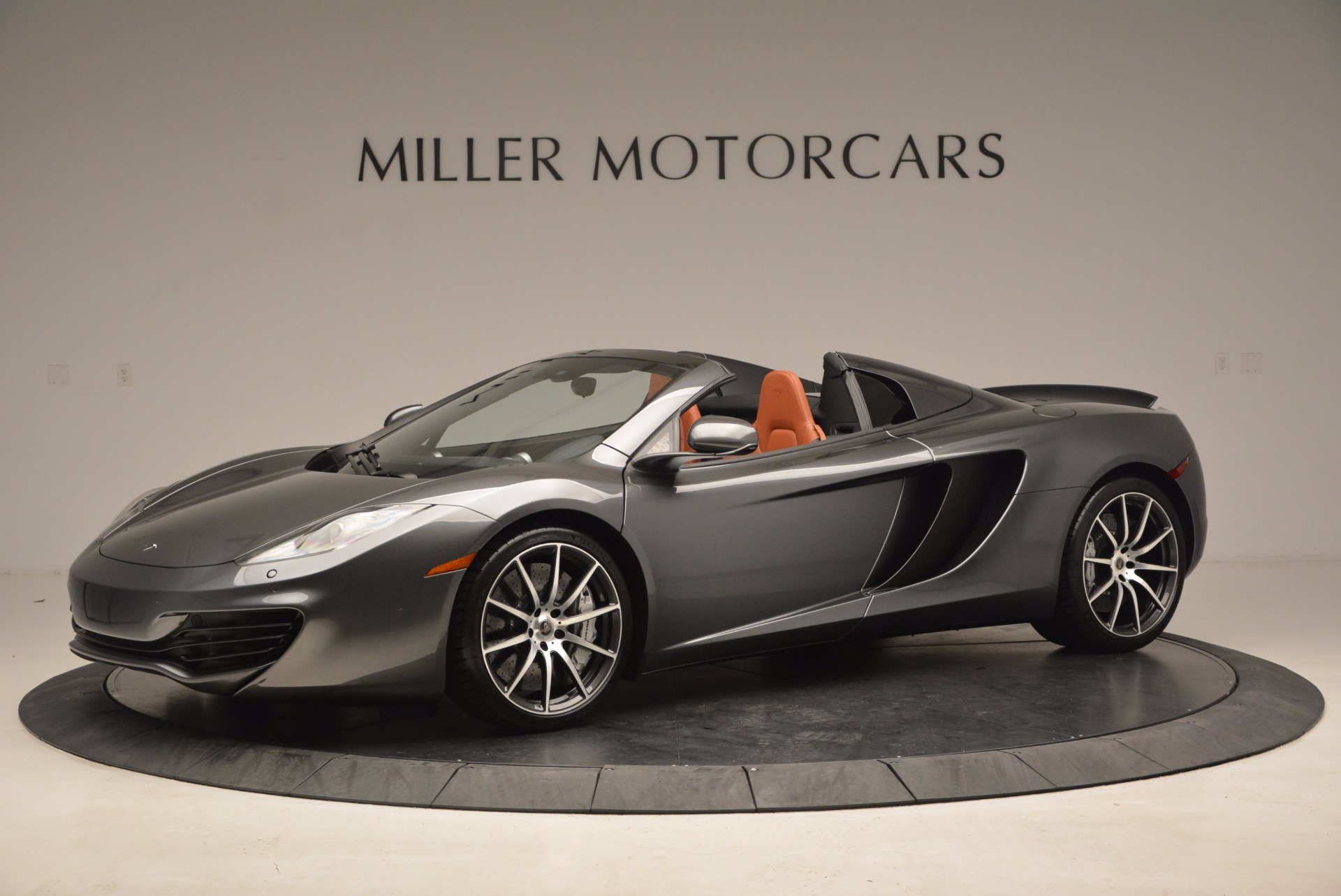 Used 2014 McLaren MP4-12C SPIDER Convertible for sale Sold at McLaren Greenwich in Greenwich CT 06830 1