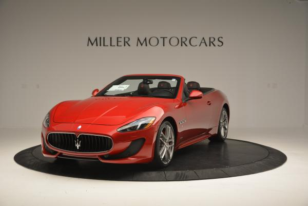 New 2017 Maserati GranTurismo Cab Sport for sale Sold at McLaren Greenwich in Greenwich CT 06830 1