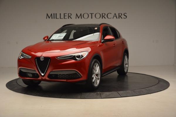 New 2018 Alfa Romeo Stelvio Ti Sport Q4 for sale Sold at McLaren Greenwich in Greenwich CT 06830 1