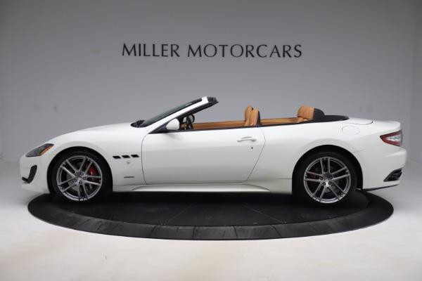 New 2017 Maserati GranTurismo Convertible Sport for sale Sold at McLaren Greenwich in Greenwich CT 06830 3