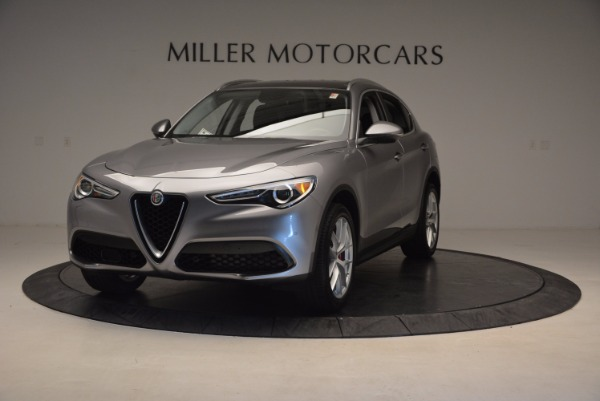 New 2018 Alfa Romeo Stelvio Q4 for sale Sold at McLaren Greenwich in Greenwich CT 06830 1