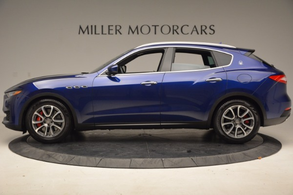 Used 2017 Maserati Levante S Q4 for sale Sold at McLaren Greenwich in Greenwich CT 06830 3