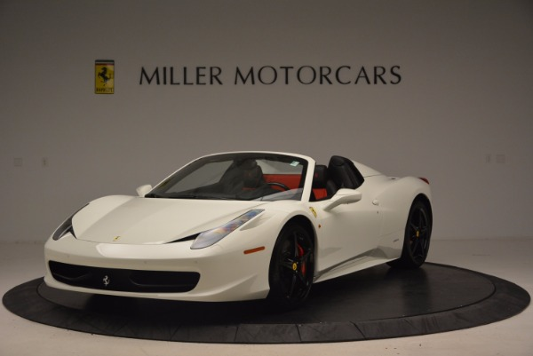 Used 2015 Ferrari 458 Spider for sale Sold at McLaren Greenwich in Greenwich CT 06830 1