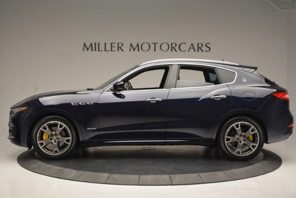 New 2018 Maserati Levante Q4 GranLusso for sale Sold at McLaren Greenwich in Greenwich CT 06830 3