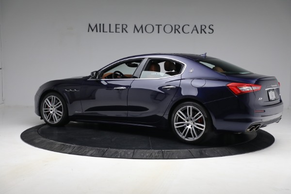 New 2018 Maserati Ghibli S Q4 GranLusso for sale Sold at McLaren Greenwich in Greenwich CT 06830 3