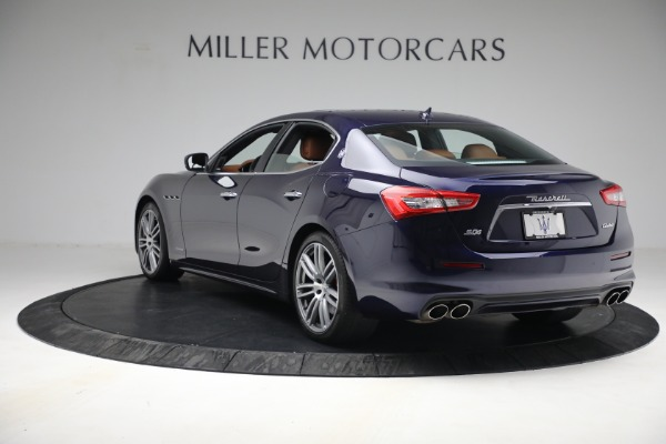 New 2018 Maserati Ghibli S Q4 GranLusso for sale Sold at McLaren Greenwich in Greenwich CT 06830 4