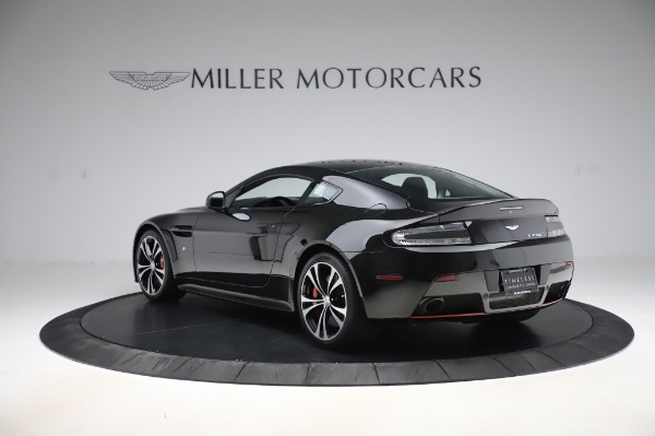Used 2017 Aston Martin V12 Vantage S Coupe for sale $179,900 at McLaren Greenwich in Greenwich CT 06830 4