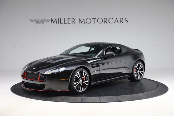 New 2017 Aston Martin V12 Vantage S for sale Sold at McLaren Greenwich in Greenwich CT 06830 1