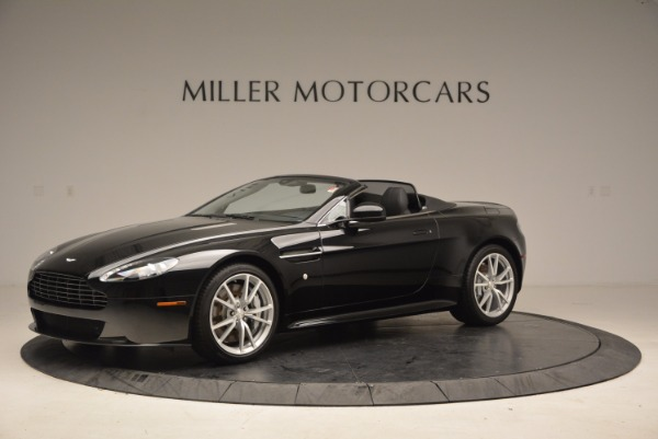New 2016 Aston Martin V8 Vantage Roadster for sale Sold at McLaren Greenwich in Greenwich CT 06830 2