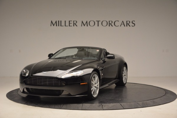New 2016 Aston Martin V8 Vantage Roadster for sale Sold at McLaren Greenwich in Greenwich CT 06830 1