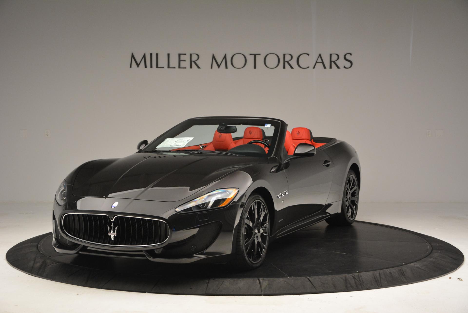 New 2016 Maserati GranTurismo Convertible Sport for sale Sold at McLaren Greenwich in Greenwich CT 06830 1