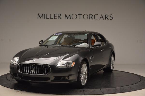 Used 2010 Maserati Quattroporte S for sale Sold at McLaren Greenwich in Greenwich CT 06830 1