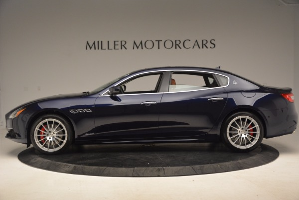Used 2018 Maserati Quattroporte S Q4 GranLusso for sale Sold at McLaren Greenwich in Greenwich CT 06830 3