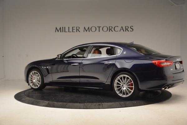 Used 2018 Maserati Quattroporte S Q4 GranLusso for sale Sold at McLaren Greenwich in Greenwich CT 06830 4