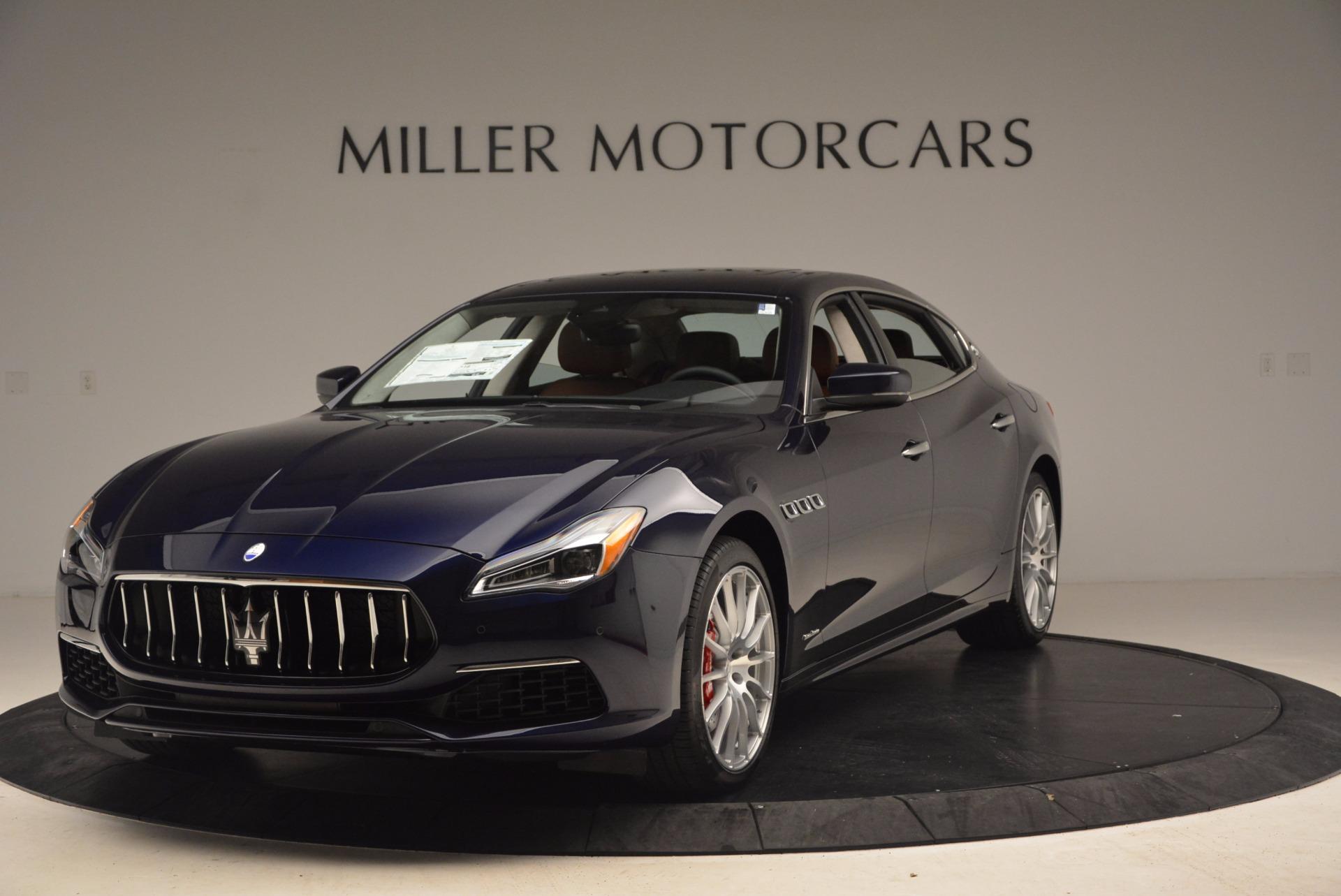 Used 2018 Maserati Quattroporte S Q4 GranLusso for sale Sold at McLaren Greenwich in Greenwich CT 06830 1