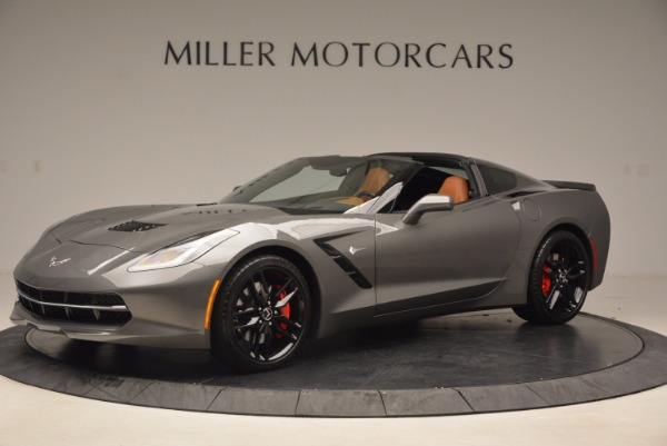 Used 2015 Chevrolet Corvette Stingray Z51 for sale Sold at McLaren Greenwich in Greenwich CT 06830 2