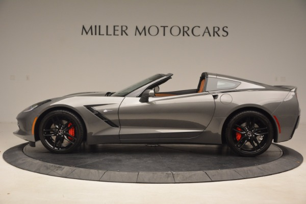Used 2015 Chevrolet Corvette Stingray Z51 for sale Sold at McLaren Greenwich in Greenwich CT 06830 3