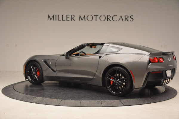 Used 2015 Chevrolet Corvette Stingray Z51 for sale Sold at McLaren Greenwich in Greenwich CT 06830 4