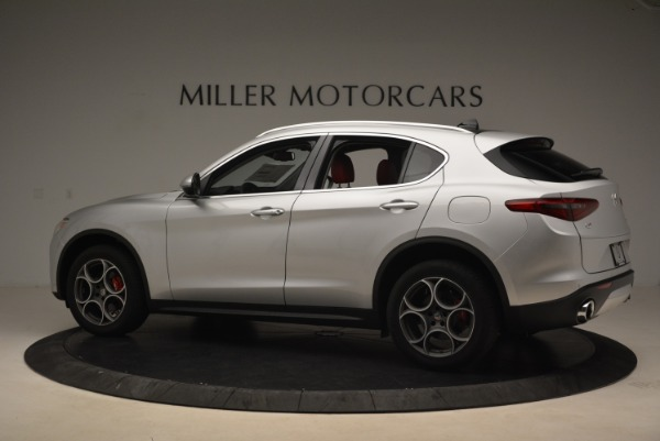 New 2018 Alfa Romeo Stelvio Ti Q4 for sale Sold at McLaren Greenwich in Greenwich CT 06830 4