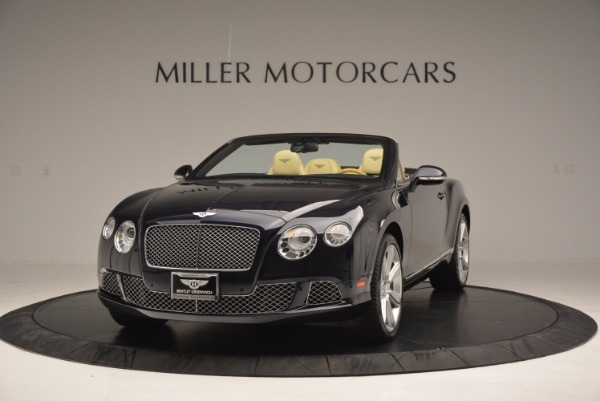 Used 2012 Bentley Continental GTC for sale Sold at McLaren Greenwich in Greenwich CT 06830 1