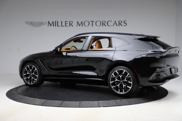 New 2021 Aston Martin DBX for sale $211,986 at McLaren Greenwich in Greenwich CT 06830 3