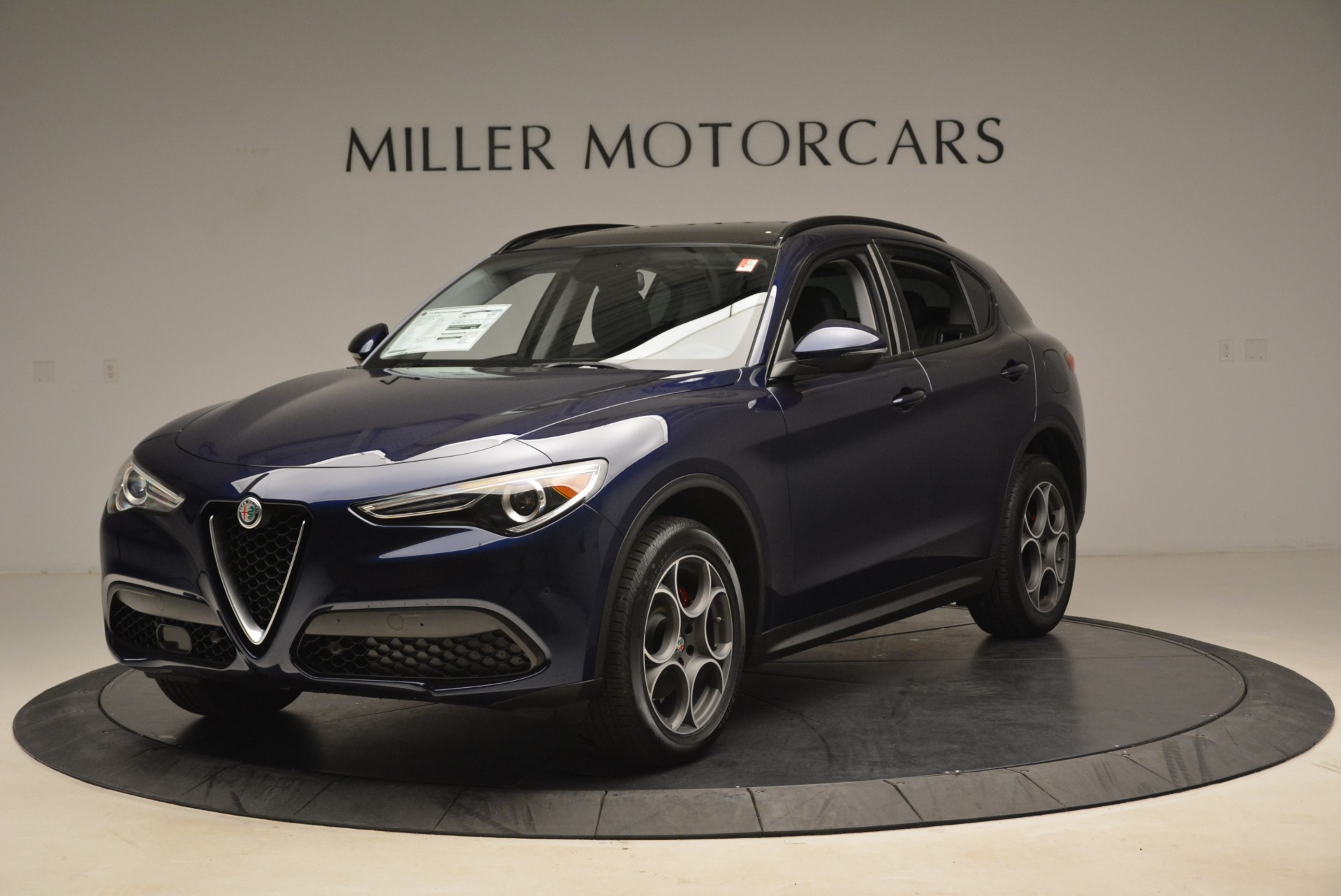 New 2018 Alfa Romeo Stelvio Sport Q4 for sale Sold at McLaren Greenwich in Greenwich CT 06830 1