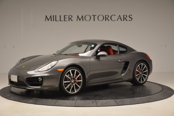 Used 2014 Porsche Cayman S S for sale Sold at McLaren Greenwich in Greenwich CT 06830 2