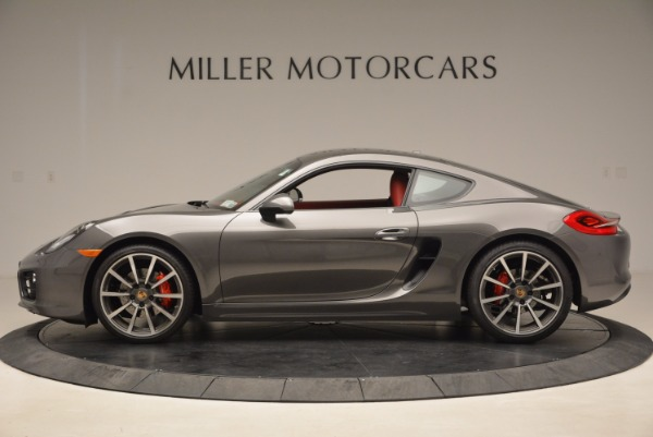 Used 2014 Porsche Cayman S S for sale Sold at McLaren Greenwich in Greenwich CT 06830 3
