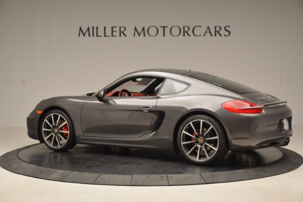 Used 2014 Porsche Cayman S S for sale Sold at McLaren Greenwich in Greenwich CT 06830 4