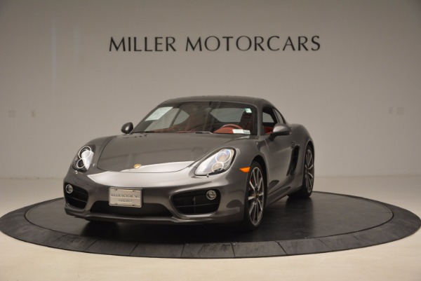 Used 2014 Porsche Cayman S S for sale Sold at McLaren Greenwich in Greenwich CT 06830 1