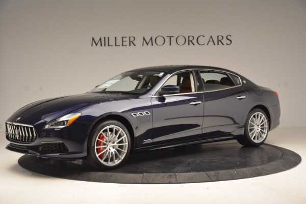 New 2018 Maserati Quattroporte S Q4 GranLusso for sale Sold at McLaren Greenwich in Greenwich CT 06830 2