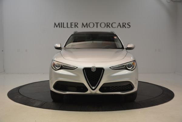 New 2018 Alfa Romeo Stelvio Q4 for sale Sold at McLaren Greenwich in Greenwich CT 06830 2