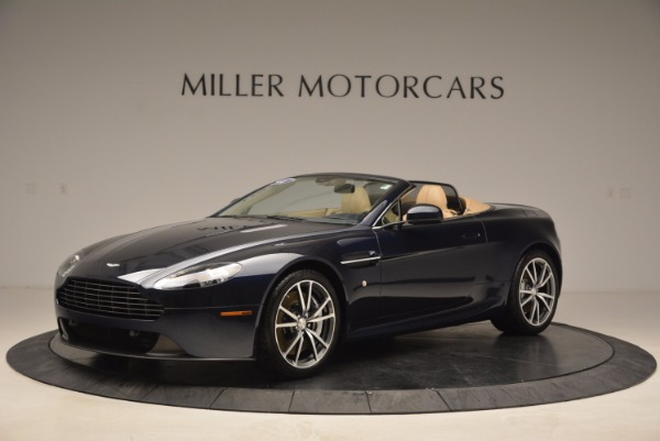 Used 2014 Aston Martin V8 Vantage Roadster for sale Sold at McLaren Greenwich in Greenwich CT 06830 2
