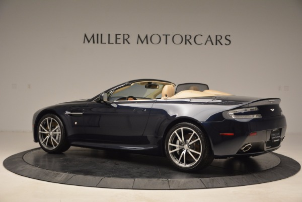 Used 2014 Aston Martin V8 Vantage Roadster for sale Sold at McLaren Greenwich in Greenwich CT 06830 4
