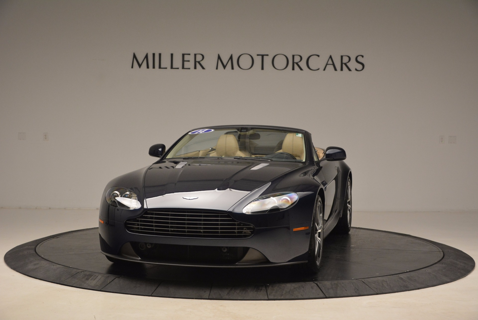 Used 2014 Aston Martin V8 Vantage Roadster for sale Sold at McLaren Greenwich in Greenwich CT 06830 1