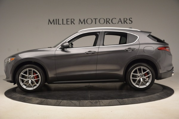 New 2018 Alfa Romeo Stelvio Q4 for sale Sold at McLaren Greenwich in Greenwich CT 06830 3