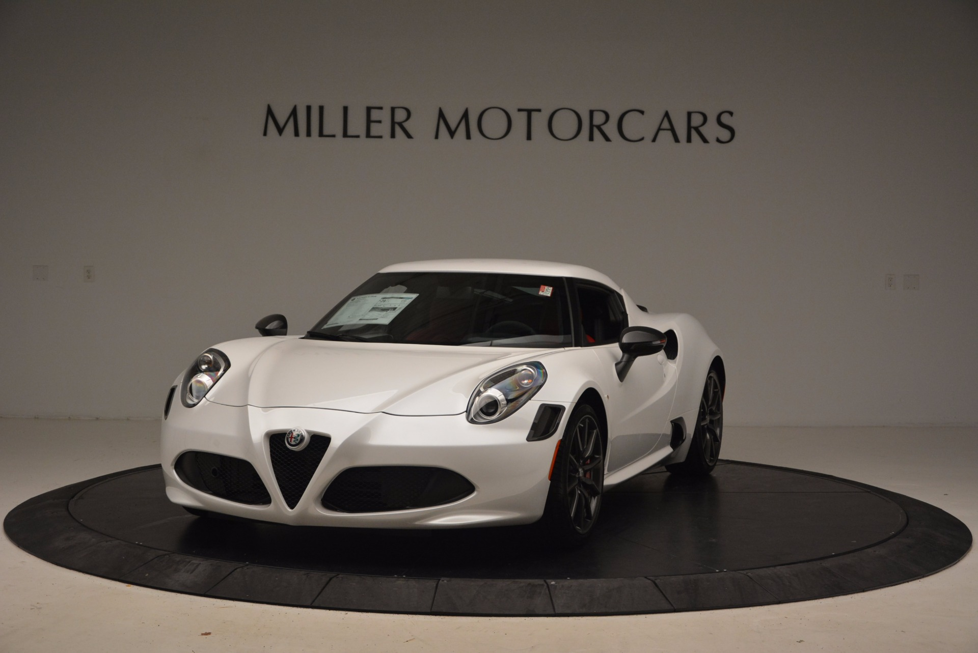 New 2018 Alfa Romeo 4C Coupe for sale Sold at McLaren Greenwich in Greenwich CT 06830 1