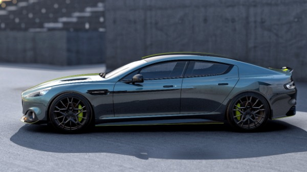 New 2019 Aston Martin Rapide AMR Shadow Edition for sale Call for price at McLaren Greenwich in Greenwich CT 06830 3